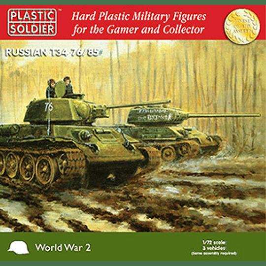 Tanques rusos T34 76/85 [en bolsa]