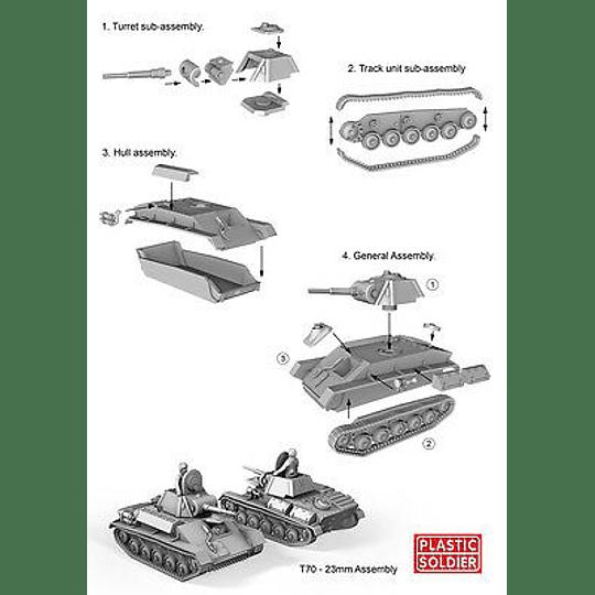 Tanques rusos T70 [en bolsa]