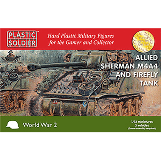 Tanques Sherman M4A4/Firefly