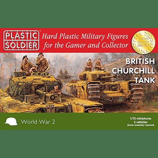 Tanques británicos Churchill