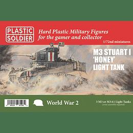 """Tanques ligeros M3 Stuart I """"Honey"""""""