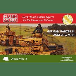 Panzer III alemanes Ausf J, L, M y N [en bolsa]