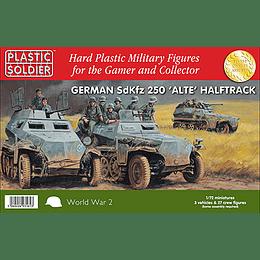 Semiorugas alemanes SdKfz 250 'Alte'