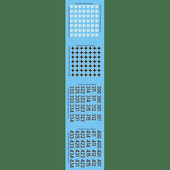 Set de calcas 1st SS Panzergrenadier Division (Kursk) DEC2001