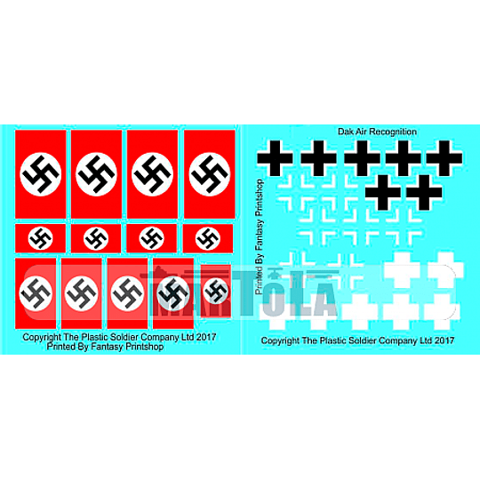 Set de calcas alemanas: DAK air recognition DEC2029