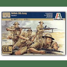 British 8th Army WW II Set 6077 1:72
