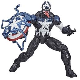 "[Exclusive] Venomized Captain America Marvel Legends 6"""