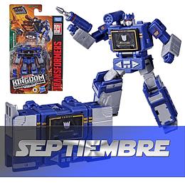 Soundwave Core Class Kingdom WFC Transformers