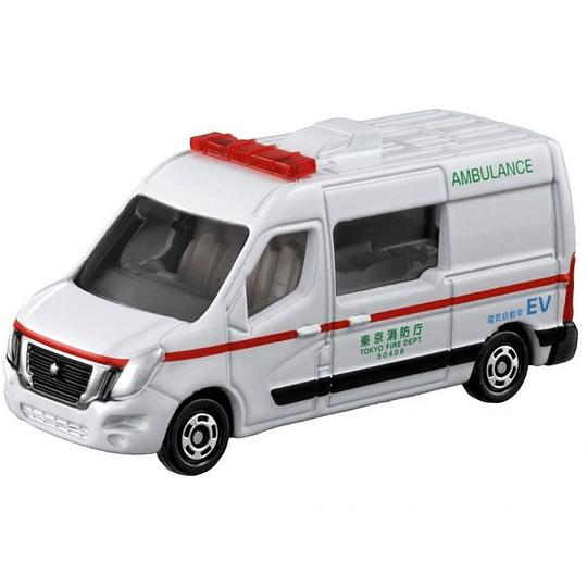 Nissan NV40 EV Ambulance #44 1:73 Tomica