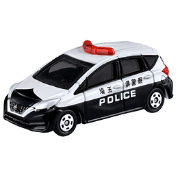 Nissan Note Police Car #21 1:63 Tomica