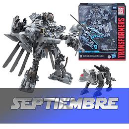 Grindor & Ravage Leader Class Studio Series Transformers