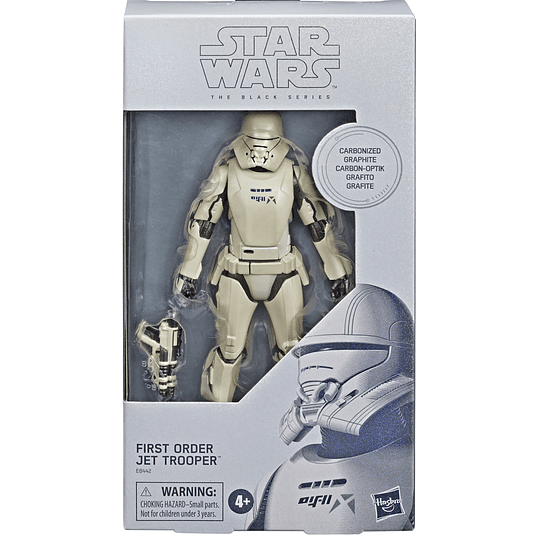 [Exclusive] First Order Jet Trooper (Carbonized) The Black Series 6