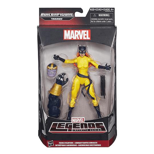 Hellcat Thanos BAF Marvel Legends 6