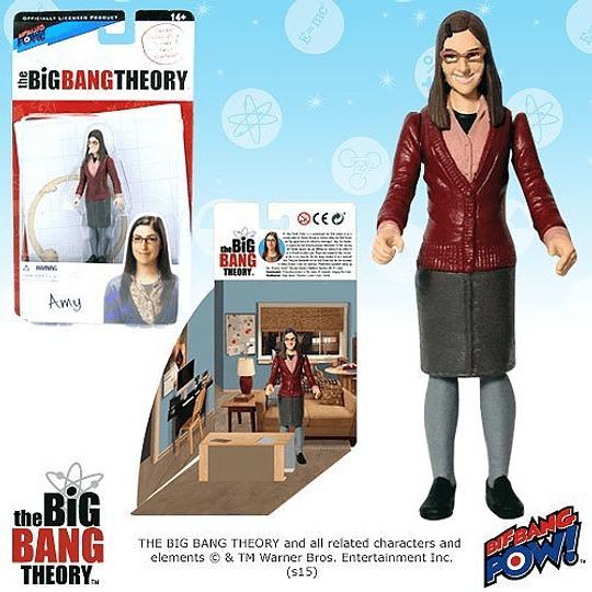 Figura Amy The Big Bang Theory