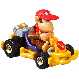 Diddy Kong Pipe Frame Mario Kart Hot Wheels