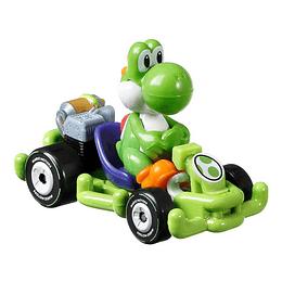 Yoshi Pipe Frame Mario Kart Hot Wheels