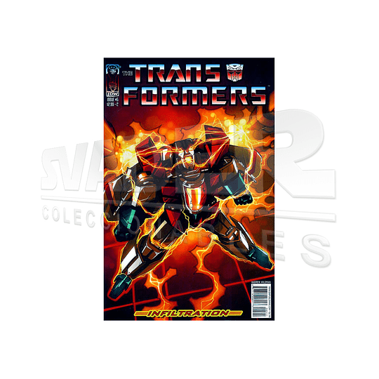 The Transformers Infiltration #5 Cover C