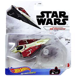 Obi-Wan Kenobi's Jedi Starfighter Hot Wheels Starships