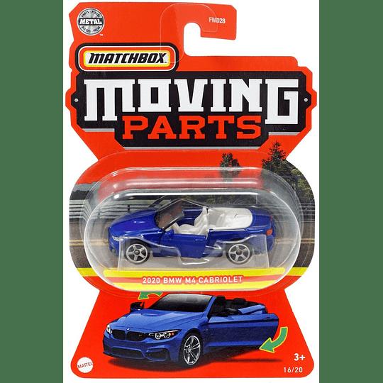2020 BMW M4 Cabriolet Moving Parts Matchbox