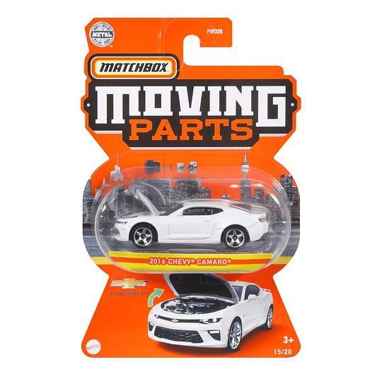 2016 Chevy Camaro Moving Parts Matchbox