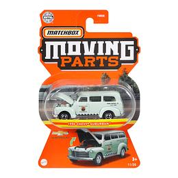 1950 Chevy Suburban Moving Parts Matchbox