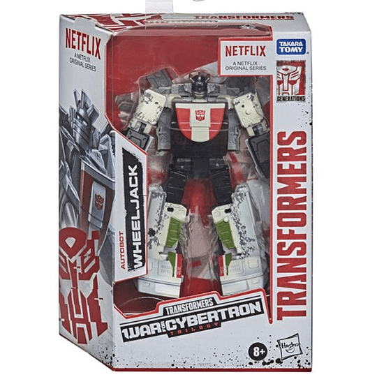 [Exclusive] Wheeljack War for Cybertron WFC