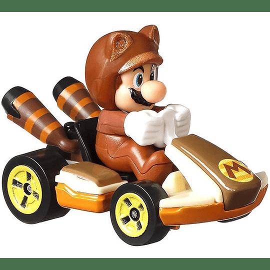Tanooki Mario Standard Kart Mario Kart Hot Wheels