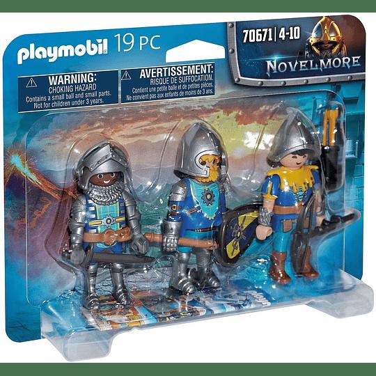 Caballeros Novelmore 3-Pack Set 70671