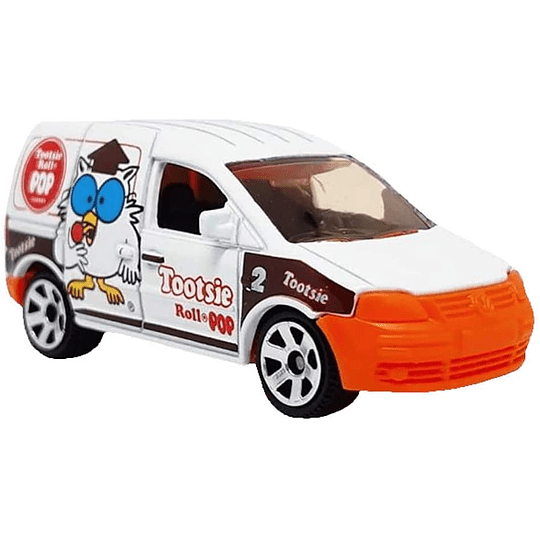 Volkswagen Caddy Delivery Tootsie Roll Pop Candy Series Matchbox
