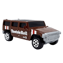 '02 Humvee H2 SUV Concept Tootsie Roll Candy Series Matchbox