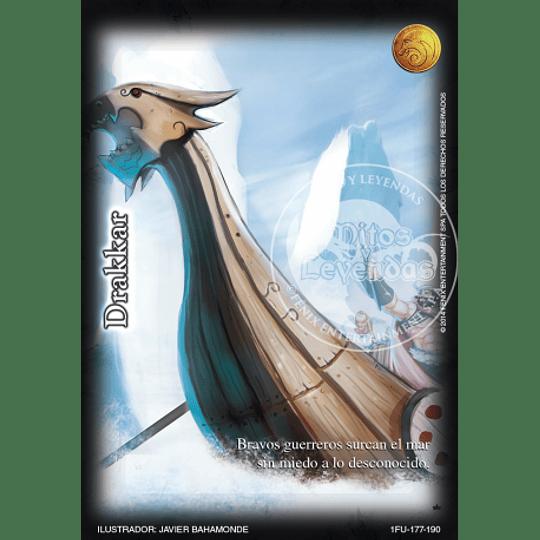 Pack Oro Drakkar 12 Cartas Mitos y Leyendas