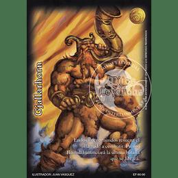 Pack Oro Gjallarhorn 12 Cartas Mitos y Leyendas
