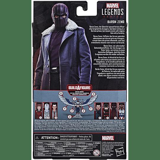 Baron Zemo (Captain America Flight Gear BAF) Marvel Legends 6