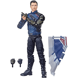 """Winter Soldier (Captain America Flight Gear BAF) Marvel Legends 6"""""""