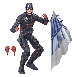 "U.S. Agent (Captain America Flight Gear BAF) Marvel Legends 6"""