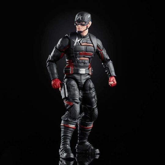 U.S. Agent (Captain America Flight Gear BAF) Marvel Legends 6