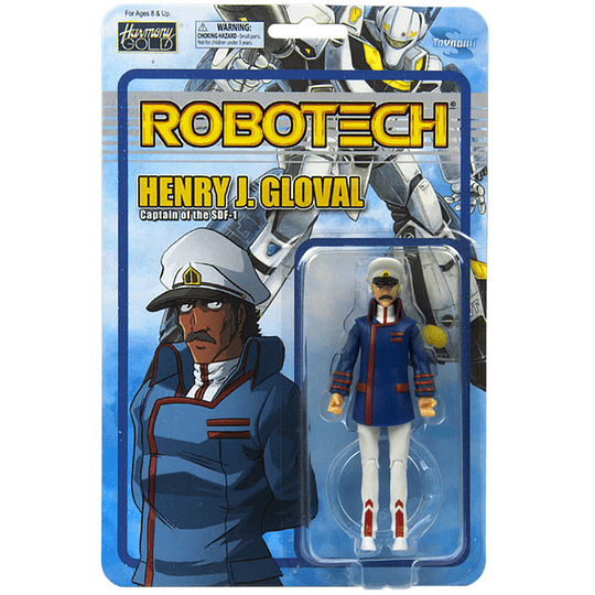 Henry J. Gloval Series 2 Robotech