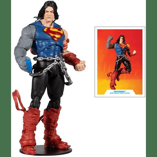 Superman Death Metal Darkfather BAF DC Multiverse 7