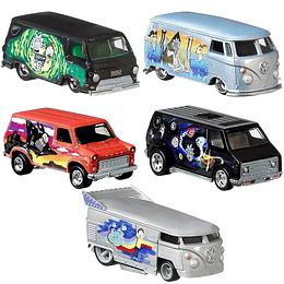 Set Completo Rick & Morty Pop Culture Hot Wheels