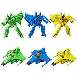 [Exclusive] Seekers 3-Pack Siege WFC Transformers