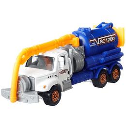 Freightliner M2 106 Vacuum Septic Truck Working Rigs Matchbox