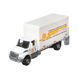 International Box Truck Working Rigs Matchbox