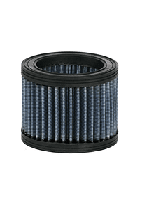 Blue continuous air filter Airhead boxer with round filter