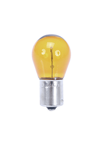 Amber bulb for white indicator lenses 12V/21W