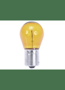 Amber bulb for white indicator lenses 12V/21W