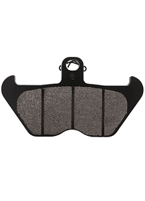 TRW Lucas RAC brake disc pad sintered metal front