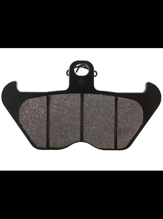 TRW Lucas RAC brake disc pad sintered metal front
