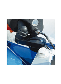 Handlebar riser VarioErgo with integral ABS system