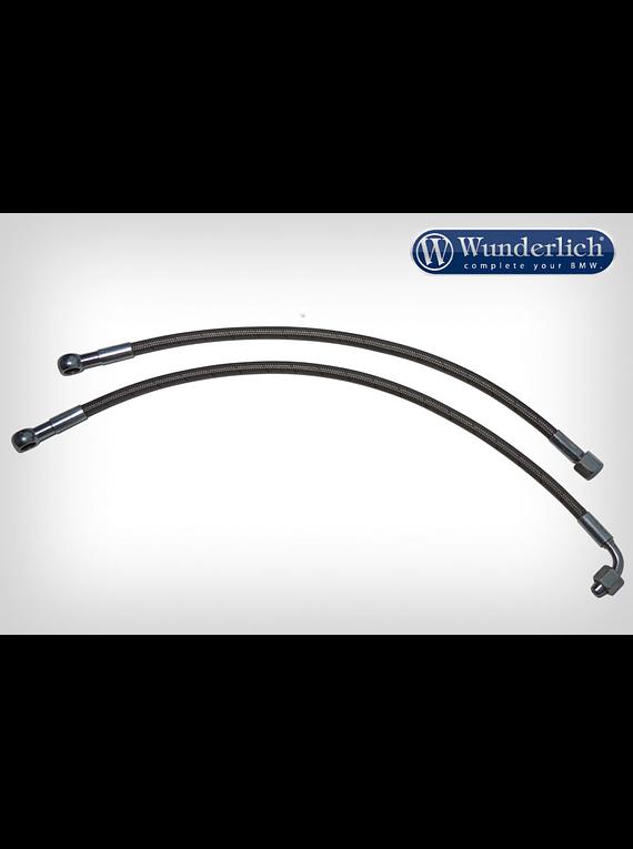 Stahlflex hose kit for oil cooler