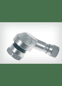 Aluminium angled valve